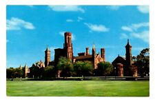 Smithsonian Institution Washington DC Postcard Vintage Art Biology Anthropology