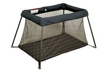 Ex Hire Childcare Avion Travel Compact Porta Chevion Grey Cot Playpen Sleep