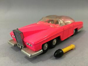 Dinky No100 Lady Penelope's FAB 1 Thunderbirds original fluorescent pink, superb