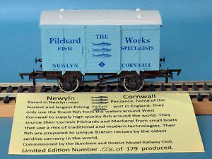 Dapol The Pilchard Works, Newlyn, Cornwall - Ventilated Van, Nº 5 - LE of 179