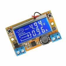 1Pcs Push-Button With Step-Down Dc-Dc Adjustable Lcd Display Power Supply Kit R