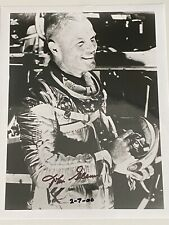 More details for john glenn signed 10x8 photograph - nasa astronaut - excellent condition