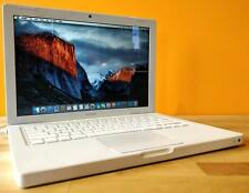 "13"" White Apple MacBook - OS X El Capitan 2015 - 160GB & 4GB - Intel - WARRANTY"