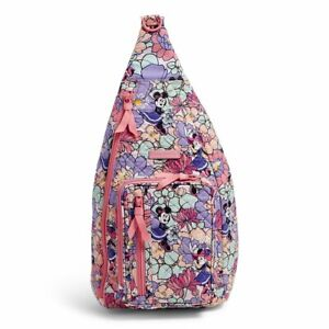 Vera Bradley Disney Minnie's Garden Party Sling Back Pack ~2021 new release