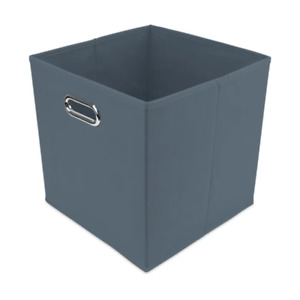 FabFinds Home Collection Cube Storage Flat Foldable With Handle 30cm