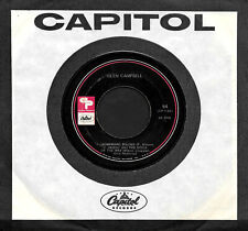 "GLEN CAMPBELL ""HOMEWARD BOUND:SITTIN ON/Mary..."" CAPITOL CREATIVE 54 (1969) EP45"