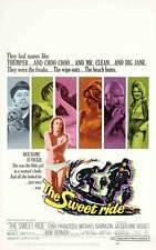 THE SWEET RIDE Movie POSTER 27x40 B Anthony Franciosa Michael Sarrazin