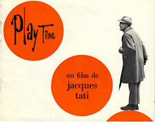 :: PLAYTIME :: JACQUES TATI :: PROMOTIONAL BOOKLET :: RARE !! ::