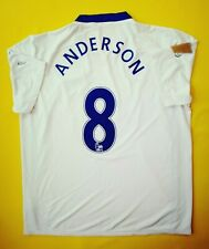 713a359f8 4 5 Anderson Manchester United jersey large 2008 2009 away shirt Nike ig93