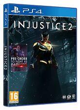La injusticia 2 (PS4) Nuevo Sellado Marvel