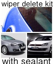 Essuie-glace Supprimer Kit Avec Silicone Mastic dewiper Blank Acrylique VW Golf Mk4 Mk5 Mk6
