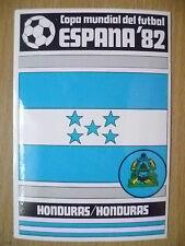 1982 COPA MUNDIAL DEL FUTBOL STICKER- HONDURAS/HONDURAS- ESPANA 82 (12x8 cm)