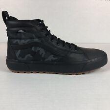 VANS Sk8 HI MTE 2 Mens Size 11.5 Black Woodland Camouflage Hiking Outdoors Shoe