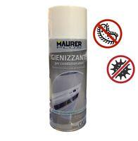 Igienizzante spray antibatterico pulitore per climatizzatori casa e auto 400 ml