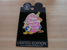 Donald Duck Goofy Happy Easter 2006 Pin Le500 Disney Studio Exclusive Egg