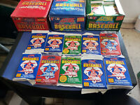 HUGE LOT OF 100-PLUS VINTAGE SCORE BASEBALL CARDS IN 10 SEALED PACKS!!!