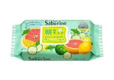 BCL Saborino Morning Care 3-in-1 Refreshing Fruits Face Mask 32pcs Japan Beauty