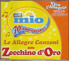 LE ALLEGRE CANZONI DELLO ZECCHINO D'ORO VIVA L'ALLEGRIA - CD