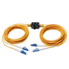 Single Mode Duplex Inline Variable Fiber Optic Attenuators with connector LC/UPC
