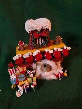 "Charming Tales ""Stocking up for Santa"""