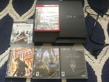 Ps3 Slim with 5 Games