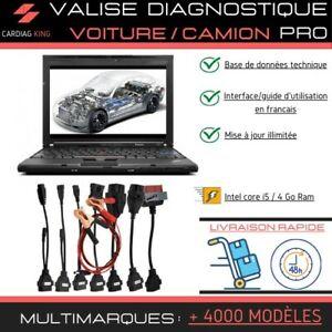PC Intel i5 Valise Diagnostic Auto Multimarque Complete Diagnostique Pro OBD2
