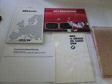 """Set manuale uso e manutenzione Bmw serie 3 """" Edizione 1999 """"  [3584.14]"""