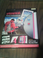 """IPAD 2 & The New IPAD PINK Extreme 10"""" durable case"""