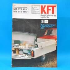 DDR KfT Kraftfahrzeugtechnik 3/1971 Camptourist MZ ETS 125/1 150/1 Kübelwagen 19