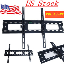 Tilting TV Wall Mount Bracket Holder LCD LED 3D 32 34 37 40 46 48 52 55 60 70""