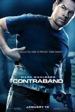 CONTRABAND -2012 orig 2-sided 27x40 movie poster- MARK WAHLBERG, KATE BECKINSALE