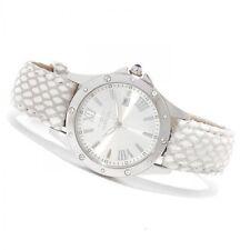 Women's Invicta 14317 Angel Swiss Silver Dial Beige Leather Watch