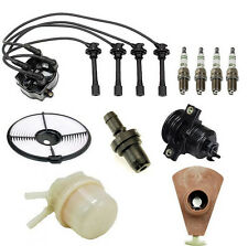 Toyota Corolla 1989 1.6L 4AF Ignition Tune Up Filters Spark Plugs Wire Set Kit