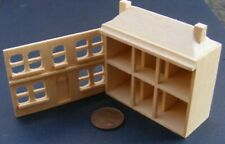 1:12 Scale Natural Finish Wooden Toy Pine House Tumdee Dolls House Accessory 386