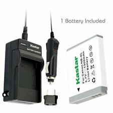NB-6L Battery&Charger for Canon PowerShot SX280 HS, SX500 IS, SX510 HS, SX520 HS