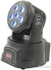 QTX 150.448 MW6 LED Technology Lightweight Quad Colour Mini Moving Head - New
