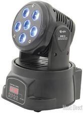QTX 150.448 MW6 LED Technology Lightweight Quad Colour Mini Moving Head - New