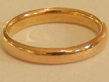 Beautiful Vintage 22ct Gold Wedding Band / Ring. Size K Full Hallmarks  A5735