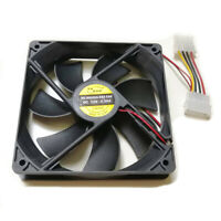 Yakoo 120 x 120 x 25 mm DC 12V 0.3A 4-pin Molex Brushless  PC Case Cooling Fan