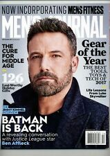 MEN'S JOURNAL MAGAZINE - DEC 2017 / BEN AFFLECK / BATMAN / GEAR OF THE YEAR
