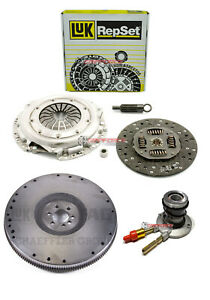 LUK CLUTCH KIT+SLAVE+FLYWHEEL for 96-01 CHEVY BLAZER S10 GMC JIMMY SONOMA 4.3L