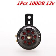 Universal Metal Black Red Motorcycle Car SUV Waterproof Electric Horn 12V 110DB