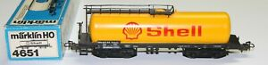 Märklin H0 4651 vierachsiger Kesselwagen (Shell) in OVP