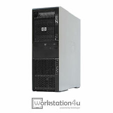 HP Z600 Workstation 2x Xeon x5660 16gb RAM Quadro 600 128gb SSD 250gb HDD W7