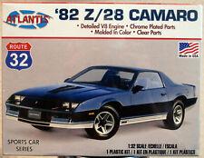 Atlantis 2004 1982 Chevrolet Camaro Z 28 1:32  wieder neu 2021 Bausatz