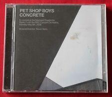 Pet Shop Boys, concrete - in concert at the mermaid theatre, 2CD