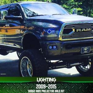 2009-2015 Dodge Ram Projector Halo Kit