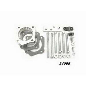 Taylor Throttle Body Spacer 34055; Helix Power Tower Plus for Toyota 3.4L 5VZFE