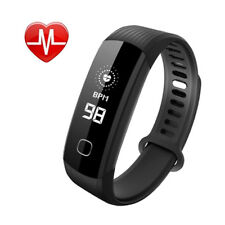 Continuous Real Time Heart Rate Monitor Stopwatch Fitness Tracker Smart Bracelet