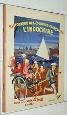 ALBUM CHOCOLAT CEMOI 1933 INDOCHINE TONKIN LAOS ANNAM CAMBODGE SIAM COLONIES